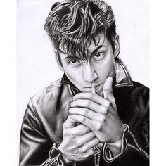 laws.art/2016/09/24 03:35:08/#repost of my Alex Turner drawing because I finally got to scan it into the computer and it's so much better quality ✏️ • • • • • • •…
