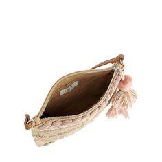 Nine by Savannah Miller Natural textured weave cross body bag | Debenhams