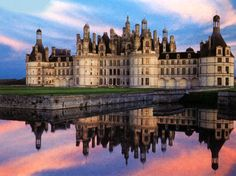 Château de Chambord. France. Chambord is the largest of the Loire castles, sumptuous Renaissance Palace, creation of the king François I inspired by the famous Leonardo da Vinci.