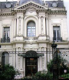 Círculo italiano, ex residencia Leloir. Barrio Norte, Buenos Aires.