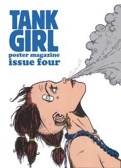By Tank girl Comic Books Art, Comic Art, Character Illustration, Illustration Art, Magazine Illustration, Tank Girl Comic, Jamie Hewlett Art, Chica Punk, Nerd
