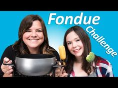 Chocolate Fondue Challenge! (Filmed Live) from Cookies Cupcakes and Cardio