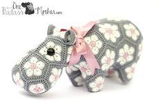 One Badass Mother » Mathilde, a super cute crocheted Happypotamus.