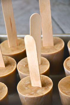 Vietnamese Coffee Popsicles