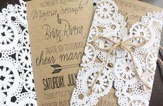 50 Unique DIY Wedding Invitation Ideas – Page 14 – Hi Miss Puff