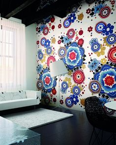 Stunning mosaic glass tile wall covering from Bisazza http://www.bisazza.it/ipad/