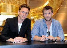 Chris Hemsworth and Tom Hiddleston Photo - Comic-Con 2010 - Day 3