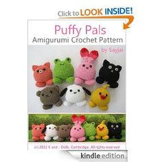 Puffy Pals Amigurumi lavora all'uncinetto il modello (Easy Crochet Patterns Doll)