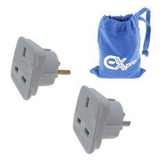 Ex-Pro [2 PACK] Travel Adapter Converts UK Plugs Plug to 2 pin (Round) [See Description for Country List] by Ex-Pro, http://www.amazon.co.uk/dp/B0050663YQ/ref=cm_sw_r_pi_dp_6KY0sb1N8WPSE/276-4574220-3869962