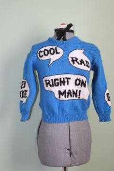 1970s sweater.