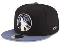 the best attitude d4fe9 eb7fa Minnesota Timberwolves New Era NBA 2 Tone Team 59FIFTY Cap Minnesota  Timberwolves, Casquettes Pour Hommes