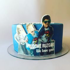 #the_cakery_athens #welcome Ruzgar to #Athens ! #cake #fondantcake #chocolate #baking #cousins #love #cakedecorating #cakeart #instafood #cakestagram