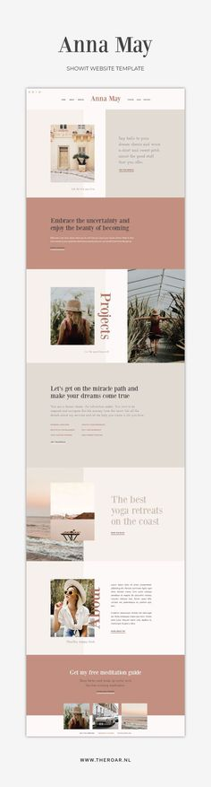 One-of-a-kind Showit Website Template for creative small business owners. #showit #website #template #webdesign #branding #business #creative #professional #feminine #top #minimalist #modern #best