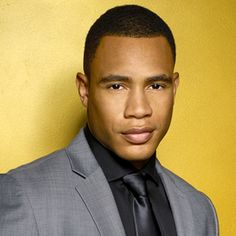 """FOX NETWORK - Empire (January 7, 2015), a sexy and powerful drama. Starring Trai Byers as """"Andre Lyon,"""" the eldest son, is CFO of Empire Entertainment, Wharton-education with a brilliant business mind. Andre lacks the charisma that Lucious believes is crucial to running the company but in his quest for power, Andre is assisted by his manipulative and like-minded wife Rhonda."""