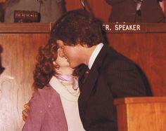 Hillary and Bill, c. 1979.