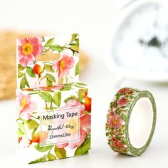 Cheap deco tape, Buy Quality washi masking tape directly from China masking tape Suppliers:        40mm Watercolor Flowers Cinta Adhesiva Decor Japanese Washi Tape 10m Scotch Masking Tape Scrapbooking Stickers KaThis one is called INK FLOWER