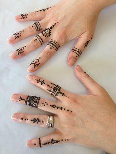 My finger mehindi