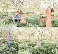 Looking for inspiration for an upcoming family photoshoot? Spring is the perfect season to take beautiful family pictures! And we can help you find the ideal Utah location for your family photos, like this gorgeous fruit orchard in Santaquin, Utah! Family Pictures, Family Picture Poses, Family Photo Outfits, Family Photo Sessions, Family Posing, Couple Photos, Utah Photographers, Beautiful Family, Spring Photos