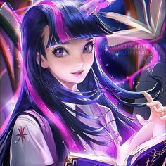 Twilight sparkle!❤❤ who's ur fav MLP!?