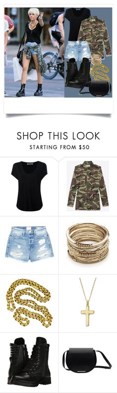 """MILEY CYRUS"" by britishcandies ❤ liked on Polyvore featuring Cyrus, Alexander Wang, Yves Saint Laurent, Frame, Sole Society, Bloomingdale's and Capezio"