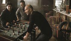 Maradona, Zidane y Pelé juntos en campaña de Louis Vuitton