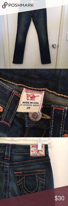 True Religion Flare Jeans Perfect condition !! True Religion Jeans Flare & Wide Leg