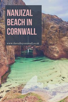 Discover this secret location in Cornwall and explore the beautiful caves and waterfalls. A must-see when visiting Cornwall! Days Out In Cornwall, Things To Do In Cornwall, Holidays In Cornwall, Beautiful Places To Visit, Cool Places To Visit, Places To Travel, Beautiful Beach Pictures, Beach Photos, Road Trip Uk