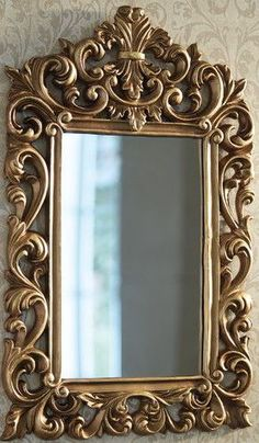 Wood Carving Designs, Border Design, Woodcarving, Wall Design, Frame, Gold, Home Decor, Decorative Mirrors, Carved Wood