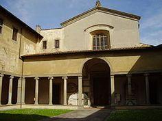 Santa Maria Maddalena de' Pazzi, Firenze. Fondata nel 1257, in questo sito si sono avvicendati diversi ordini e istituzioni religiose : Benedettine, Cistercensi, Carmelitane