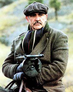 Jim Malone ~ The Untouchables (Sean Connery) James Bond, Sean Connery 007, Sean Connery Movies, Movie Stars, Movie Tv, Gangster Films, Scottish Actors, Hollywood Men, Cultura Pop