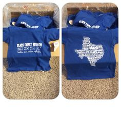 Our family reunion shirt - made by the awesome Customink.... www.customink.com
