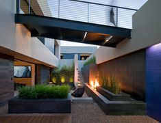 Fireplace outdoor