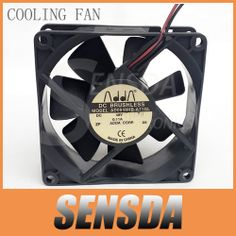 Free Shipping Wholesale ADDA AD0848HB-A71GL 8025 80mm 8cm DC 48V 0.11A server inverter axial cooling fans $18.99
