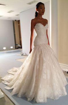 Zunino Couture Bridal Show Fall 2014 - Lisa Robertson Mark Zunino Wedding Dresses, 2015 Wedding Dresses, Wedding Attire, Bridal Dresses, Wedding Gowns, Flower Girl Dresses, Flower Girls, Tulle Wedding, Mermaid Wedding
