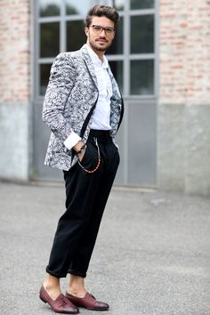 12 Fashion Rules to Steal from Male Street Style Stars