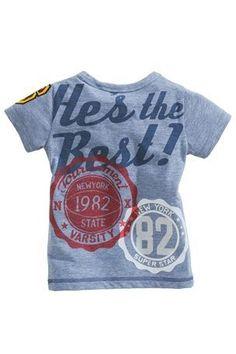 932aeb9ca7958 Buy Blue Daddy T-Shirt (3mths-6yrs) from the Next UK online. Mode Hiver Pour  EnfantsVêtements ...
