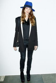 black and blue - Elisa Sednaoui
