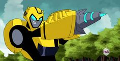 """Transformers Animated Bumblebee (from """"A Bridge Too Close, Part 1"""")"""