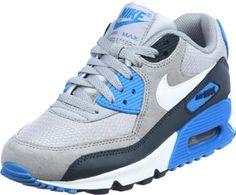 Nike Air Max 90 Youth GS Schuhe grau blau