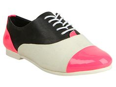 Color blocked oxfords by Steve Madden