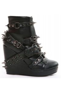 Love this spike boot. Only a few sizes left. www.blackno1.com