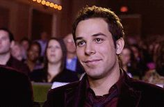 As you walk on by, will you call my name?  Gotta love Skylar Astin in Pitch Perfect!!!