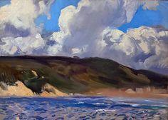 Playa del Gros. San Sebastián. 1917 Beautiful Paintings, Landscape Art, Great Artists, Paradise, Louvre, Fine Art, Running, Portrait, Yule