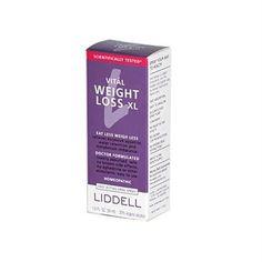 Liddell Homeopathic Weight Loss XL - 1 fl oz