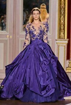 Zuhair Murad wedding gown simply gorgeous.
