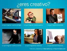 ¿Cómo son vistos los creativos y los cuentas de una agencia?