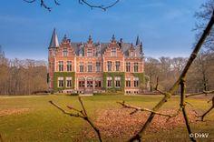 Kasteel Vrieselhof, Oelegem, Ranst, België.
