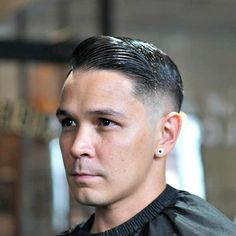 Barbershop Haircuts - High Skin Fade with Slick Comb Over