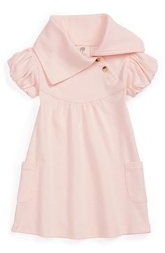 Kate Quinn Organics Short Sleeve Lounge Dress (Baby Girls) available at #Nordstrom