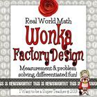 In this print-and-go math activity students are asked to design a new floor for Wonka's factory.  They must use measurement and problem solving ski...